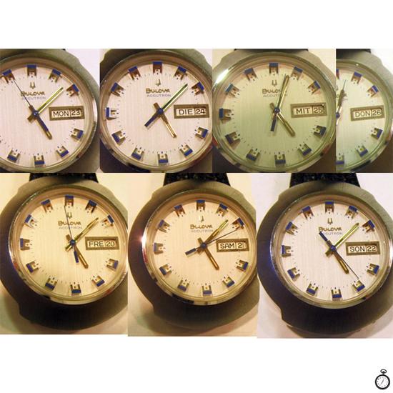 Reloj Bulova Accutron Sputnik Diapasón G