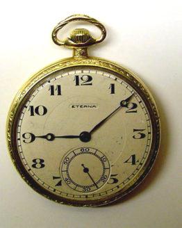Reloj de bolsillo antiguo Eterna