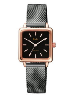 Reloj Q&Q (by Citizen) QB51J402Y Cuadrado bicolor