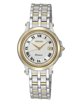 Reloj Seiko SXDE02P1 de mujer, bicolor