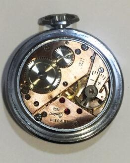 Reloj de bolsillo antiguo Contex antimagnetic - 3